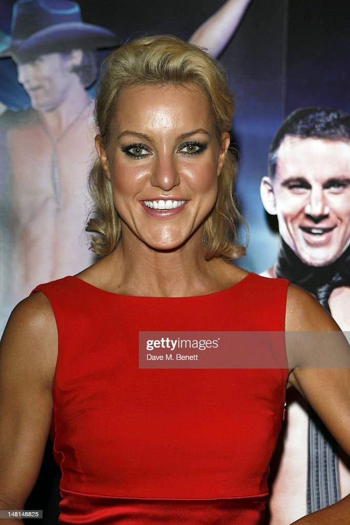 Professional dancer Natalie Lowe attends the European premiere of 'Magic Mike' at The May Fair Hotel on July 10, 2012 in London, England.