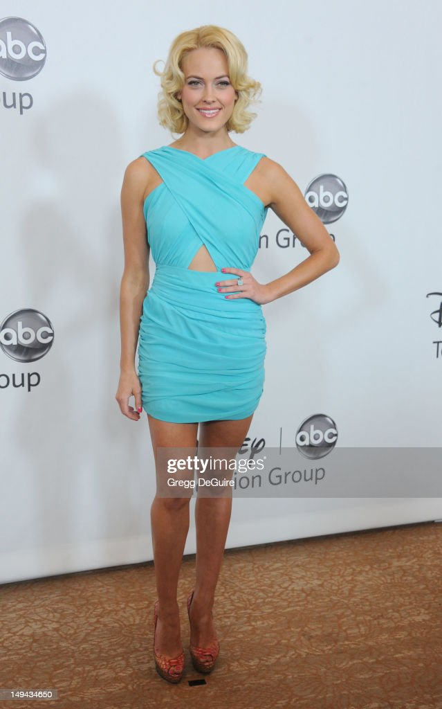 Professional dancer Peta Murgatroyd arrives at the 2012 Disney ABC Television TCA summer press tour party at The Beverly Hilton Hotel on July 27, 2012 in Beverly Hills, California.