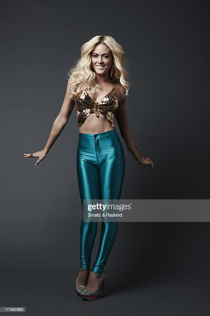 Professional dancers and cast members of the reality competition show 'Dancing with the Stars' Peta Murgatroyd is photographed for Us Weekly on May 23, 2013 in Los Angeles, California. ON