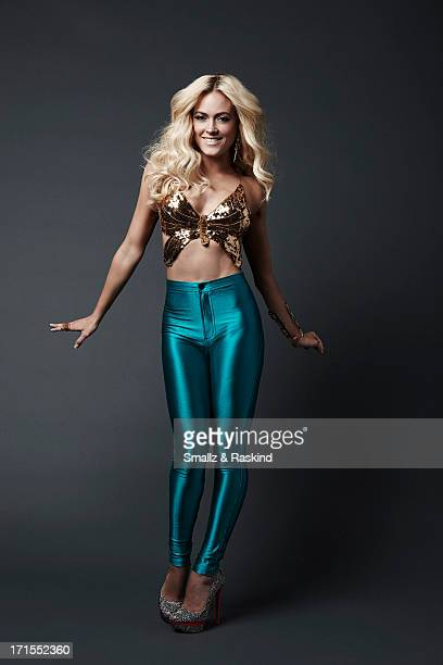 Professional dancers and cast members of the reality competition show 'Dancing with the Stars' Peta Murgatroyd is photographed for Us Weekly on May...