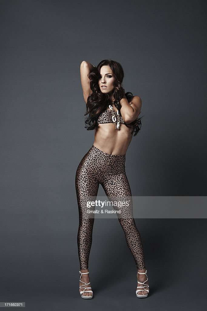 Professional dancers and cast members of the reality competition show 'Dancing with the Stars' <a gi-track='captionPersonalityLinkClicked' href=/galleries/search?phrase=Sharna+Burgess&family=editorial&specificpeople=6409208 ng-click='$event.stopPropagation()'>Sharna Burgess</a> is photographed for Us Weekly on May 23, 2013 in Los Angeles, California. ON