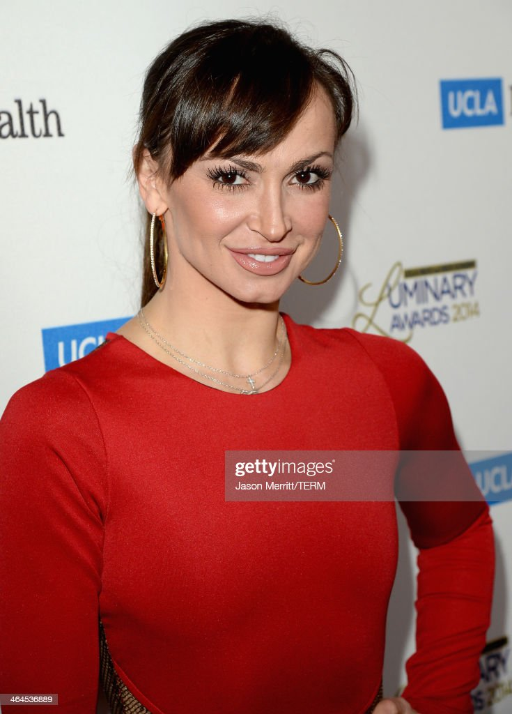 Professional dancer/TV personality <a gi-track='captionPersonalityLinkClicked' href=/galleries/search?phrase=Karina+Smirnoff&family=editorial&specificpeople=4029232 ng-click='$event.stopPropagation()'>Karina Smirnoff</a> attends the UCLA Head and Neck Surgery Luminary Awards at the Beverly Wilshire Four Seasons Hotel on January 22, 2014 in Beverly Hills, California.