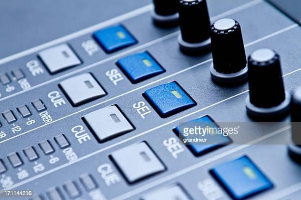 Professionelle digitale Audio- und Aufzeichnung-Konsole