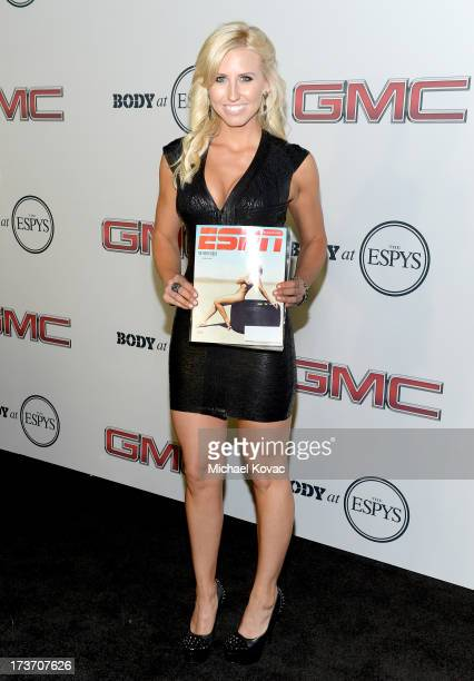 Professional Drag racer Courtney Force attends ESPN The Magazine 5th annual 'Body Issue' party at Lure on July 16 2013 in Hollywood California