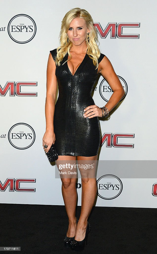 Professional Drag racer Courtney Force attends ESPN The Magazine 5th annual 'Body Issue' party at Lure on July 16, 2013 in Hollywood, California..