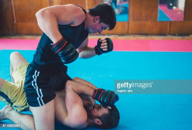 MMA professional fighters