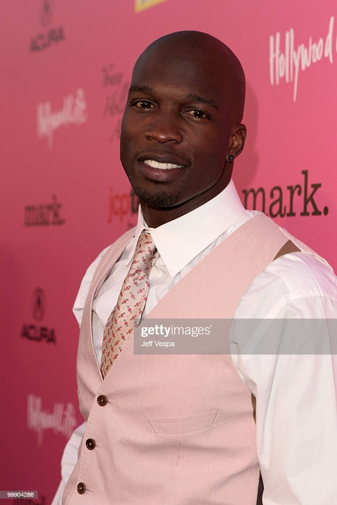 Professional football player Chad Ochocinco arrives at the 12th annual Young Hollywood Awards sponsored by JC Penney , Mark. & Lipton Sparkling Green Tea held at the Ebell of Los Angeles on May 13, 2010 in Los Angeles, California.