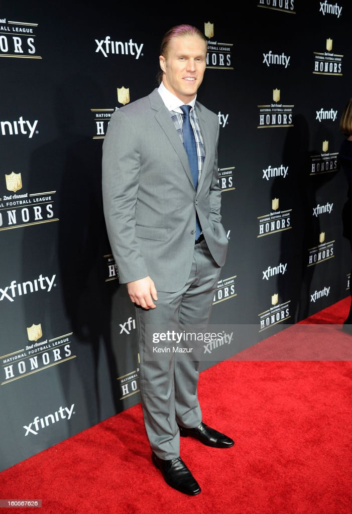 Professional football player Clay Matthews III attends the 2nd Annual NFL Honors at the Mahalia Jackson Theater on February 2, 2013 in New Orleans, Louisiana.