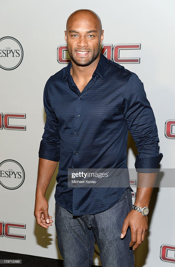 Professional football player George Wilson attends ESPN the Magazine 5th annual 'Body Issue' party at Lure on July 16, 2013 in Hollywood, California.