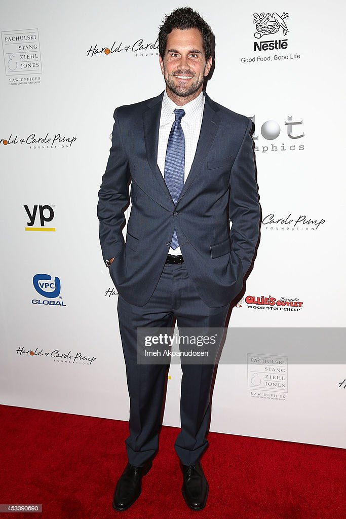 Professional football player <a gi-track='captionPersonalityLinkClicked' href=/galleries/search?phrase=Matt+Leinart&family=editorial&specificpeople=171669 ng-click='$event.stopPropagation()'>Matt Leinart</a> attends the 14th Annual Harold & Carole Pump Foundation Gala at the Hyatt Regency Century Plaza on August 8, 2014 in Century City, California.