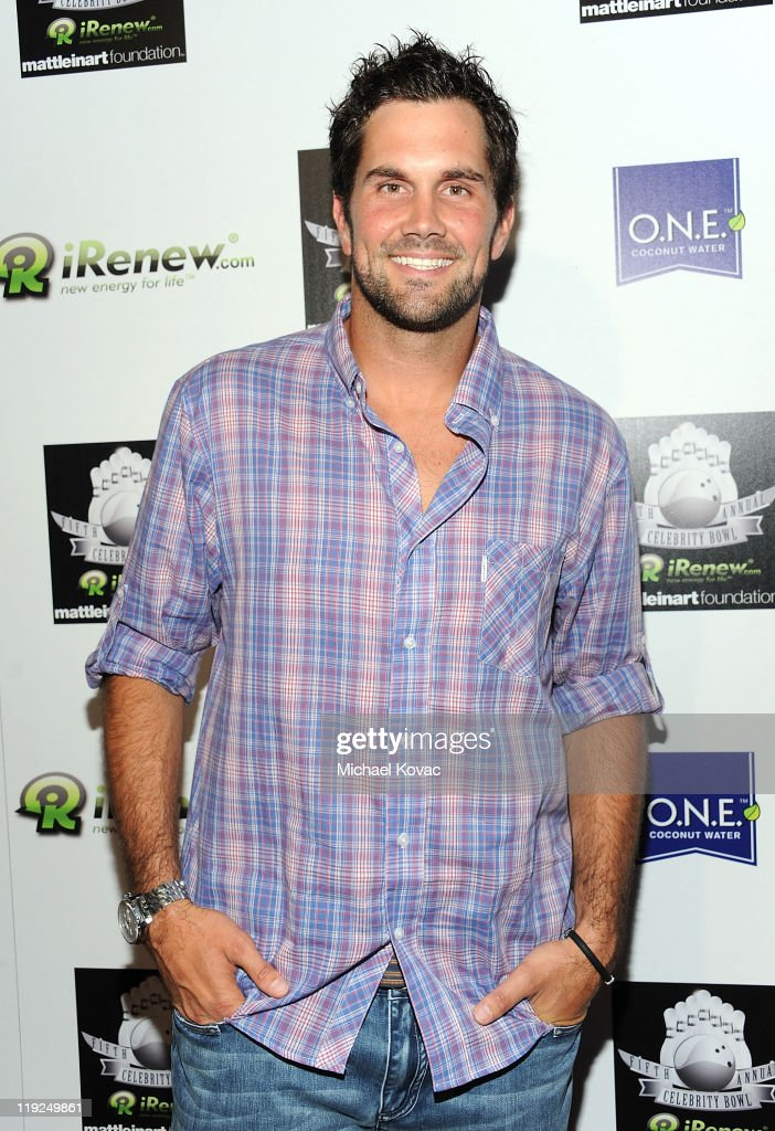 Professional football player Matt Leinart hosts the iRenew Matt Leinart 5th Annual Charity Bowling Tournament at Lucky Strike Bowling Alley on July 14, 2011 in Hollywood, California.