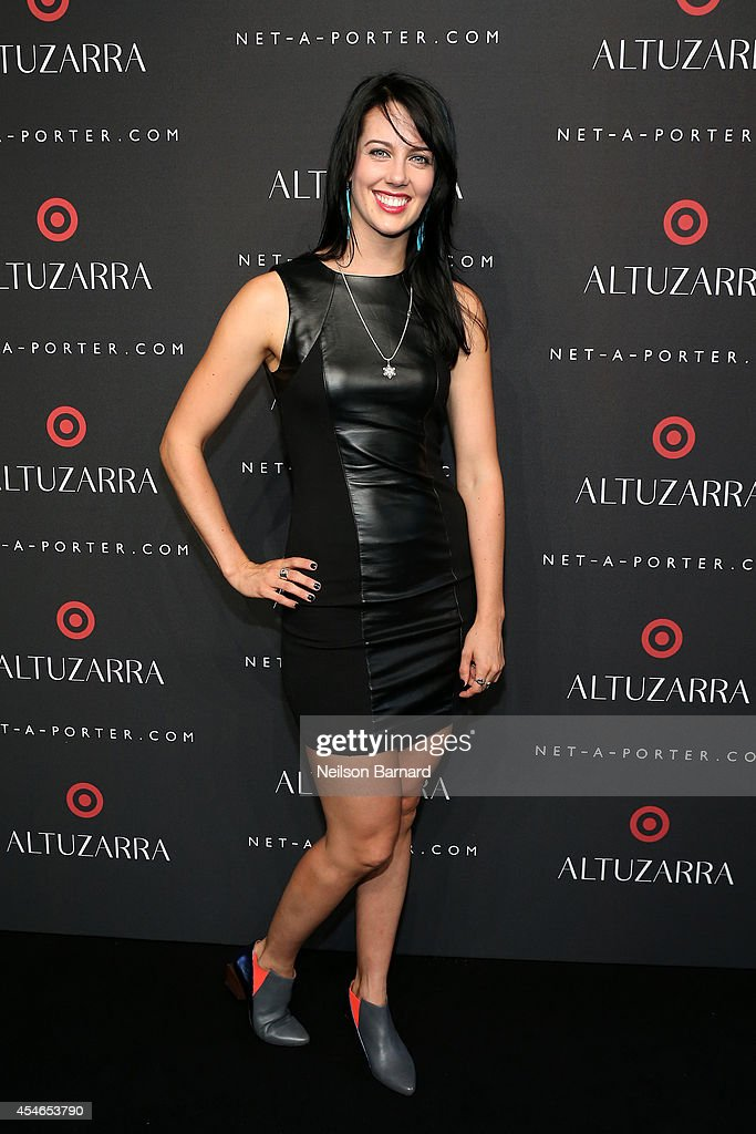 Professional Freeskier Roz G attends the Altuzarra for Target launch event at Skylight Clarkson Sq on September 4, 2014 in New York City.