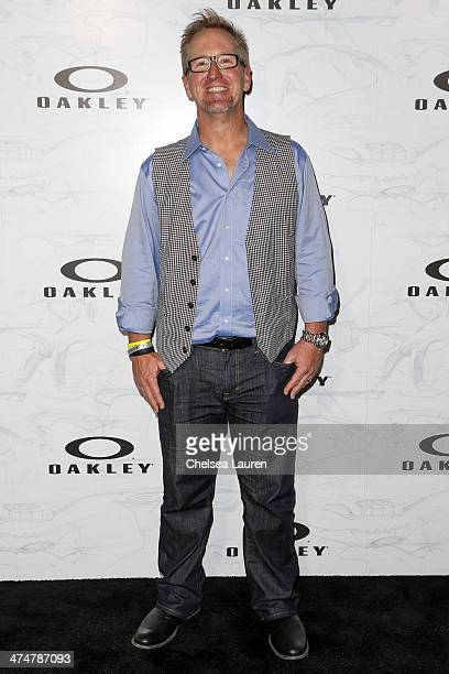 Professional golfer David Duval arrives at Oakley's Disruptive by Design at Red Studios on February 24 2014 in Los Angeles California