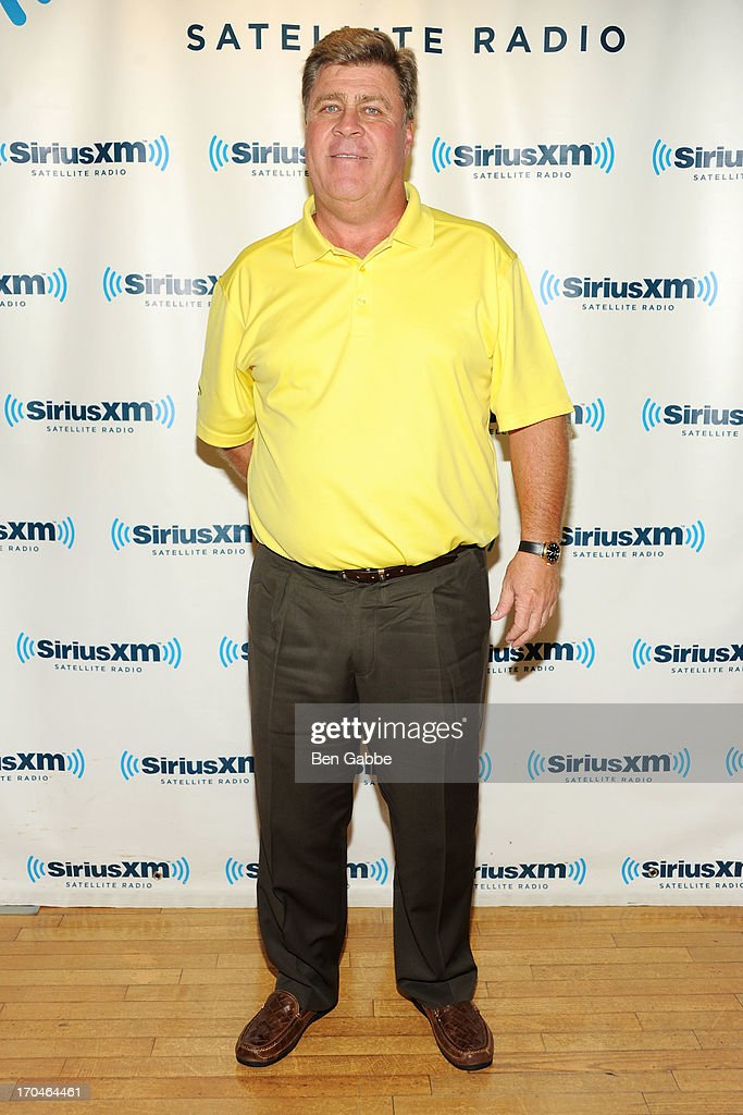 Professional golfer <a gi-track='captionPersonalityLinkClicked' href=/galleries/search?phrase=Hal+Sutton&family=editorial&specificpeople=204662 ng-click='$event.stopPropagation()'>Hal Sutton</a> visits SiriusXM Studios on June 13, 2013 in New York City.
