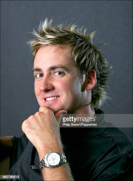 Professional Golfer Ian Poulter of Great Britain posing for a photograph at Woburn circa 2004