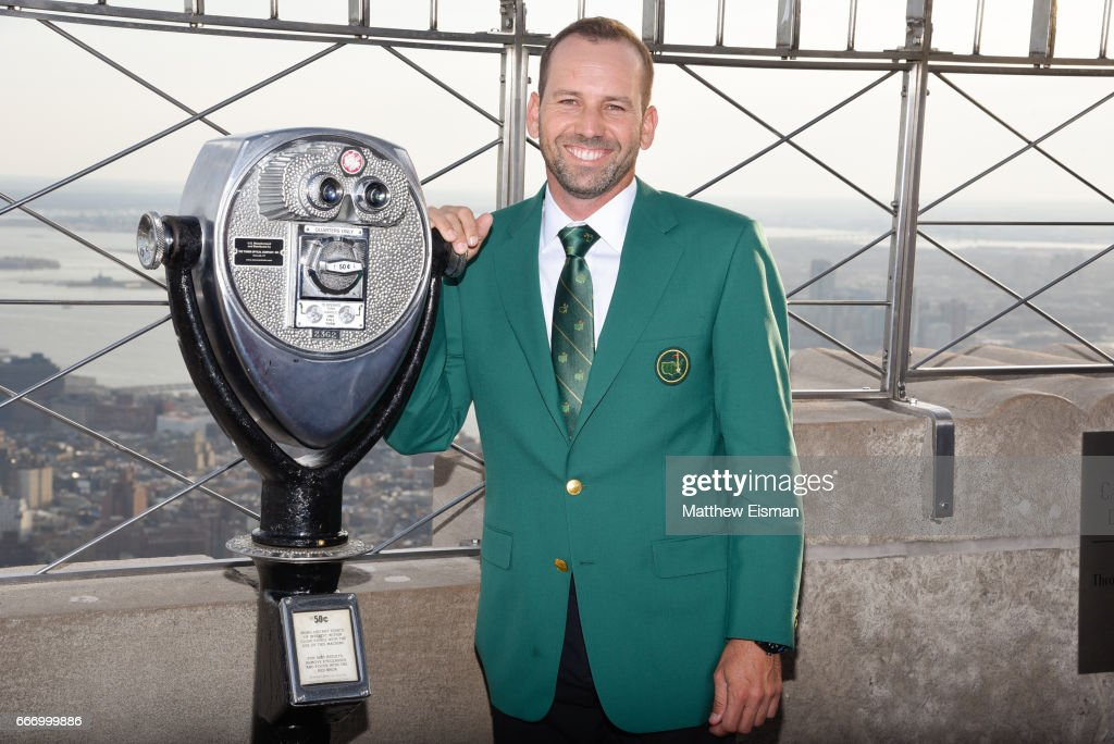2017 Masters Winner Media Tour With Sergio Garcia