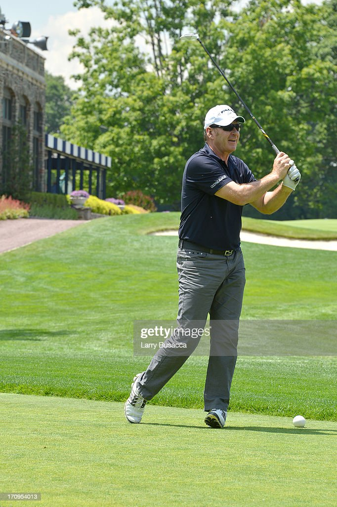 Professional golfer Sir <a gi-track='captionPersonalityLinkClicked' href=/galleries/search?phrase=Nick+Faldo&family=editorial&specificpeople=171119 ng-click='$event.stopPropagation()'>Nick Faldo</a> attends a Golf Day hosted by Glenmorangie and Sir <a gi-track='captionPersonalityLinkClicked' href=/galleries/search?phrase=Nick+Faldo&family=editorial&specificpeople=171119 ng-click='$event.stopPropagation()'>Nick Faldo</a> at Winged Foot Golf Club on June 20, 2013 in Mamaroneck, New York.