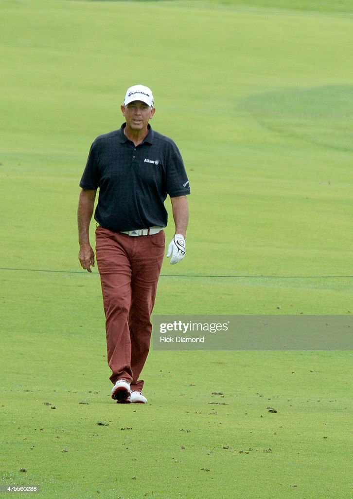 Professional Golfer Tom Lehman attends The 23nd Annual Vinny ProCelebrityJunior Golf Invitational hosted by Vince Gill at the Golf Club of Tennessee...