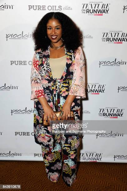 "Professional hairstylist and blogger Monica ""Mo"" Stevens of MoKnowsHair attends Texture On The Runway presented by NaturallyCurly powered By Sally..."