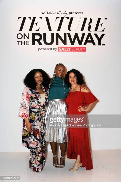 "Professional hairstylist and blogger Monica ""Mo"" Stevens of MoKnowsHair Director of Merchandising Sally Beauty Supply Karonda Cook and NaturallyCurly..."