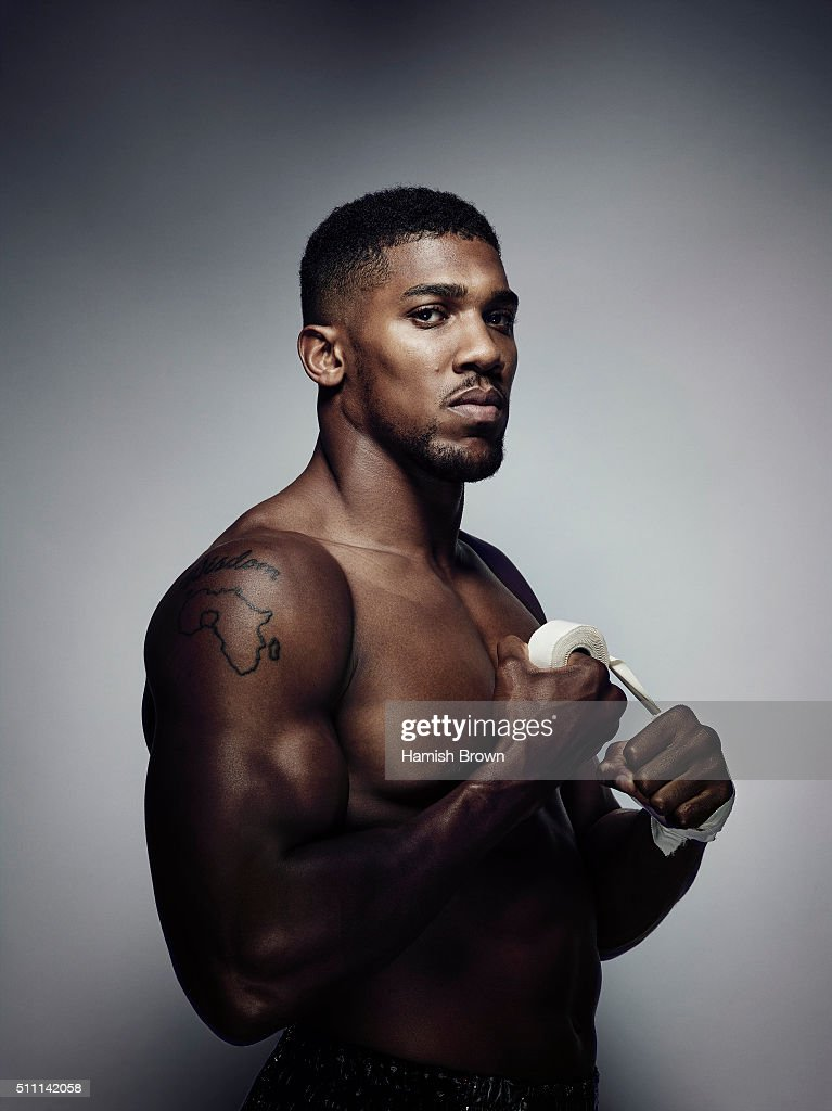 Anthony Joshua, Sports magazine UK, January 15, 2016