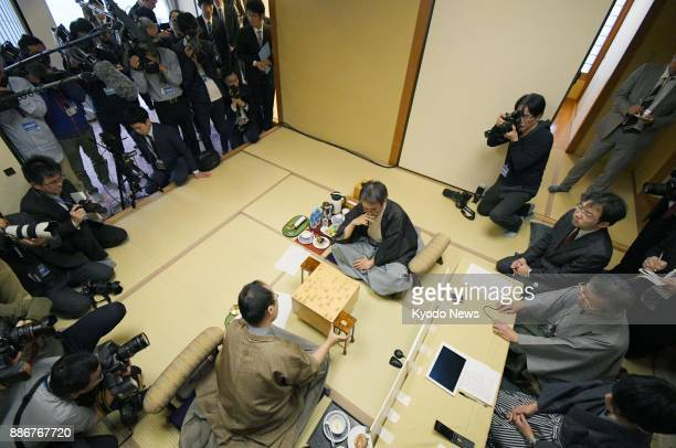 Professional Japanese shogi player Yoshiharu Habu and his longtime archrival Akira Watanabe reflect on their match at an inn in Ibusuki Kagoshima...