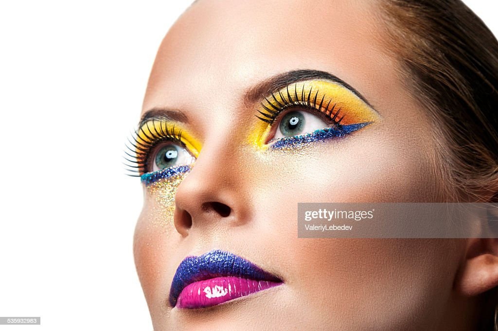 Professional Make up concept : Stock Photo