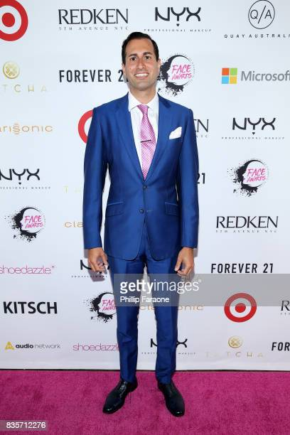 Professional Makeup USA General Manager Michel Fahmy at the 2017 NYX Professional Makeup FACE Awards at The Shrine Auditorium on August 19 2017 in...