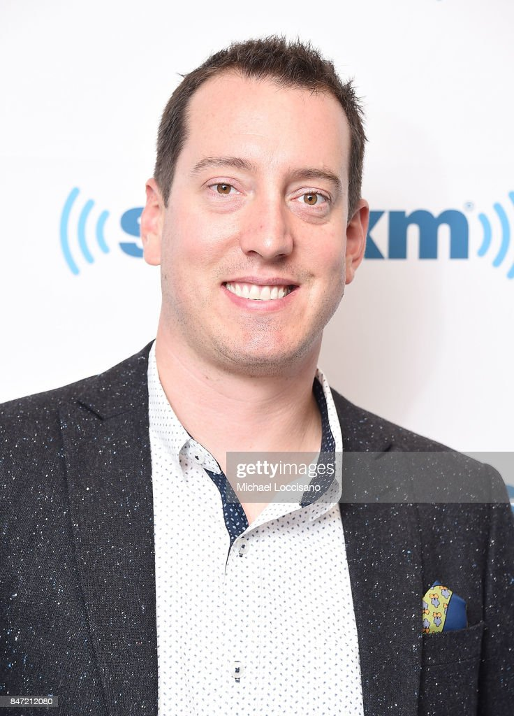 Professional NASCAR driver Kyle Busch visits SiriusXM Studios on September 14, 2017 in New York City.