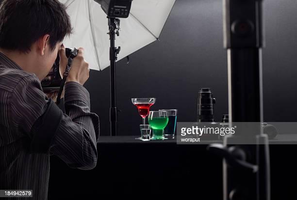 Professioneller Fotografen
