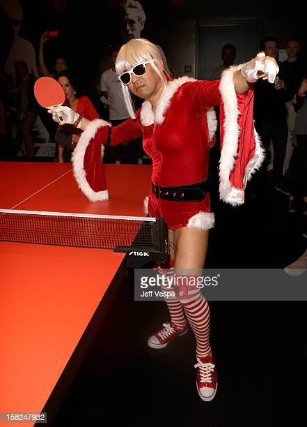 Professional ping pong player Kazuyuki Yokoyama attends SPiN Standard Ping Pong Social Club grand opening hosted by Susan Sarandon and Andre Balazs...