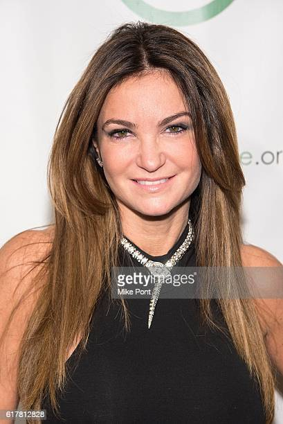 Professional Poker Player Beth Shak attends the 10th Anniversary Sing For Hope Gala at Tribeca Rooftop on October 24 2016 in New York City