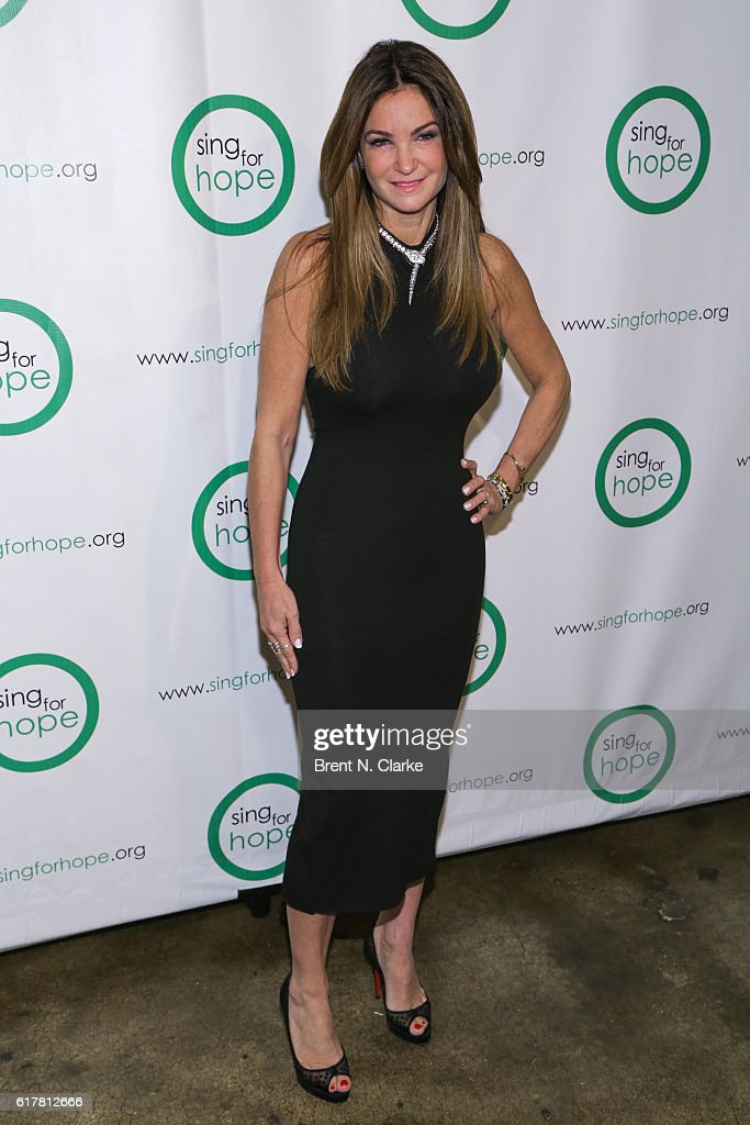 Professional poker player Beth Shak attends the Sing for Hope 10th Anniversary gala held at Tribeca Rooftop on October 24, 2016 in New York City.