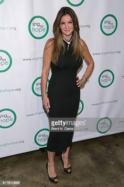 Professional poker player Beth Shak attends the Sing for Hope 10th Anniversary gala held at Tribeca Rooftop on October 24 2016 in New York City