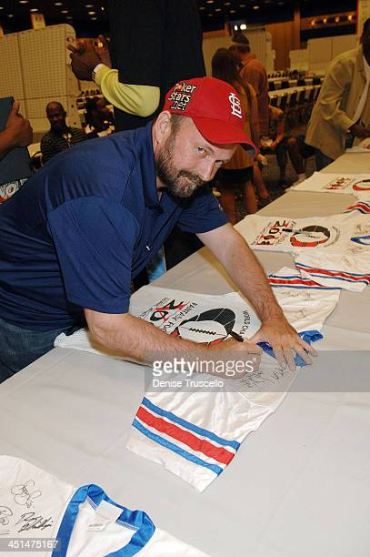 Professional poker player Dennis Phillips attends the 2008 World Championship of Fantacy Football Celebrity League at the Hilton Hotel and Casino on...