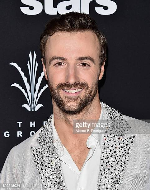 Professional race car driver James Hinchcliffe attends ABC's 'Dancing With The Stars' Season 23 Finale at The Grove on November 22 2016 in Los...