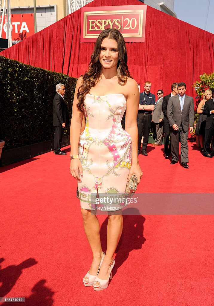 Professional racing driver Danica Patrick arrives at the 2012 ESPY Awards at Nokia Theatre L.A. Live on July 11, 2012 in Los Angeles, California.
