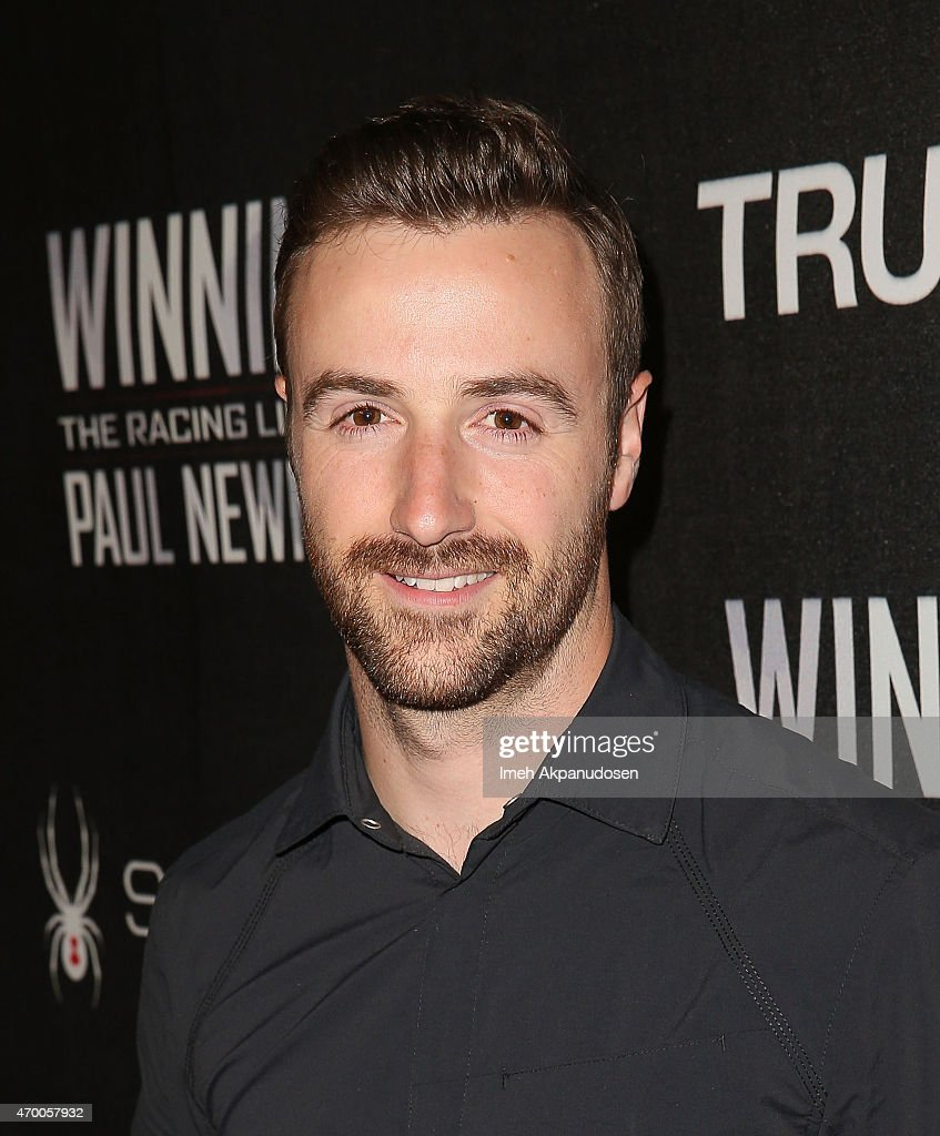 Professional racing driver <a gi-track='captionPersonalityLinkClicked' href=/galleries/search?phrase=James+Hinchcliffe&family=editorial&specificpeople=4024510 ng-click='$event.stopPropagation()'>James Hinchcliffe</a> attends the charity screening of 'WINNING: The Racing Life Of Paul Newman' at the El Capitan Theatre on April 16, 2015 in Hollywood, California.