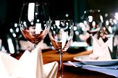photo of professional restaurant serving