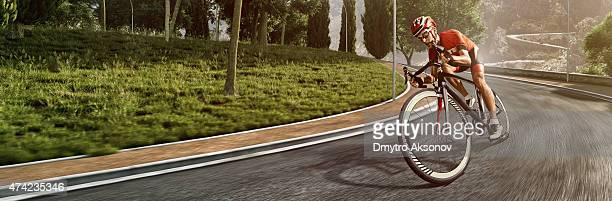 Professional road cyclist