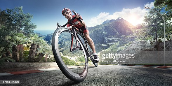 Professional road cyclist