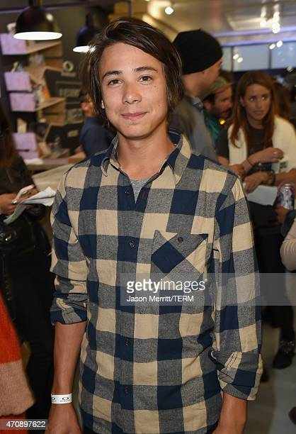 Professional skateboarder Sean Malto attends Oakley In Residence Los Angeles community space grand opening celebrating creativity in skate on April...