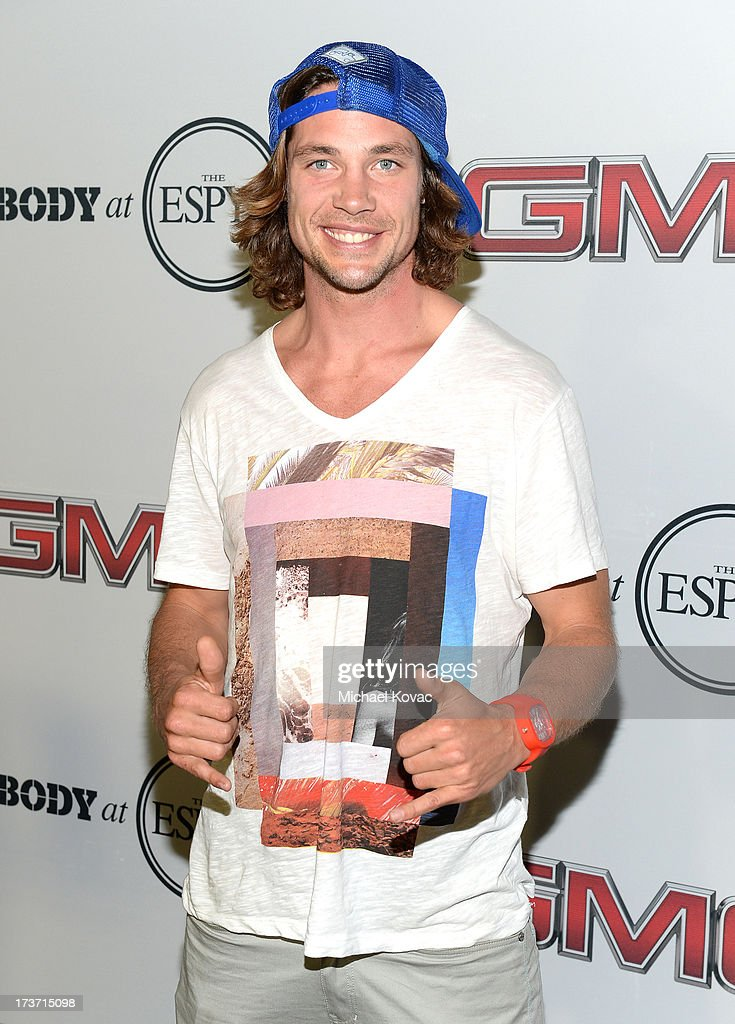 Professional skier/filmmaker/ reality star Rory Bushfield attends ESPN the Magazine 5th annual 'Body Issue' party at Lure on July 16, 2013 in Hollywood, California.