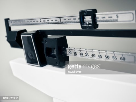 Professional Sliding Weight Medical and Sports Scale