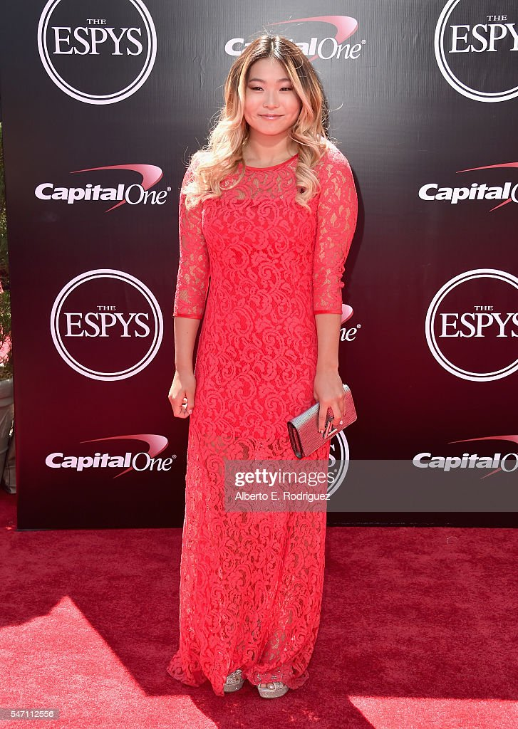 Professional snowboarder Chloe Kim attends the 2016 ESPYS at Microsoft Theater on July 13, 2016 in Los Angeles, California.