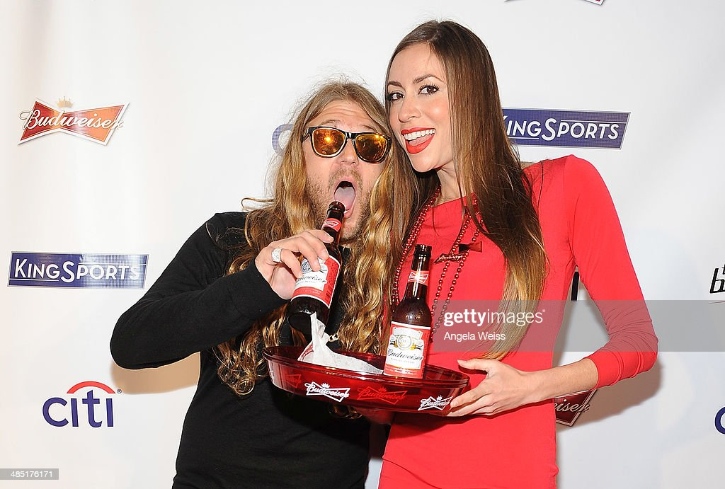 Professional snowboarder Dingo attends Boxing at Barker presented by Budweiser at Barkar Hangar on April 16, 2014 in Santa Monica, California.