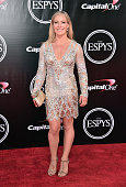Professional snowboarder Jamie Anderson attends the 2016 ESPYS at Microsoft Theater on July 13 2016 in Los Angeles California