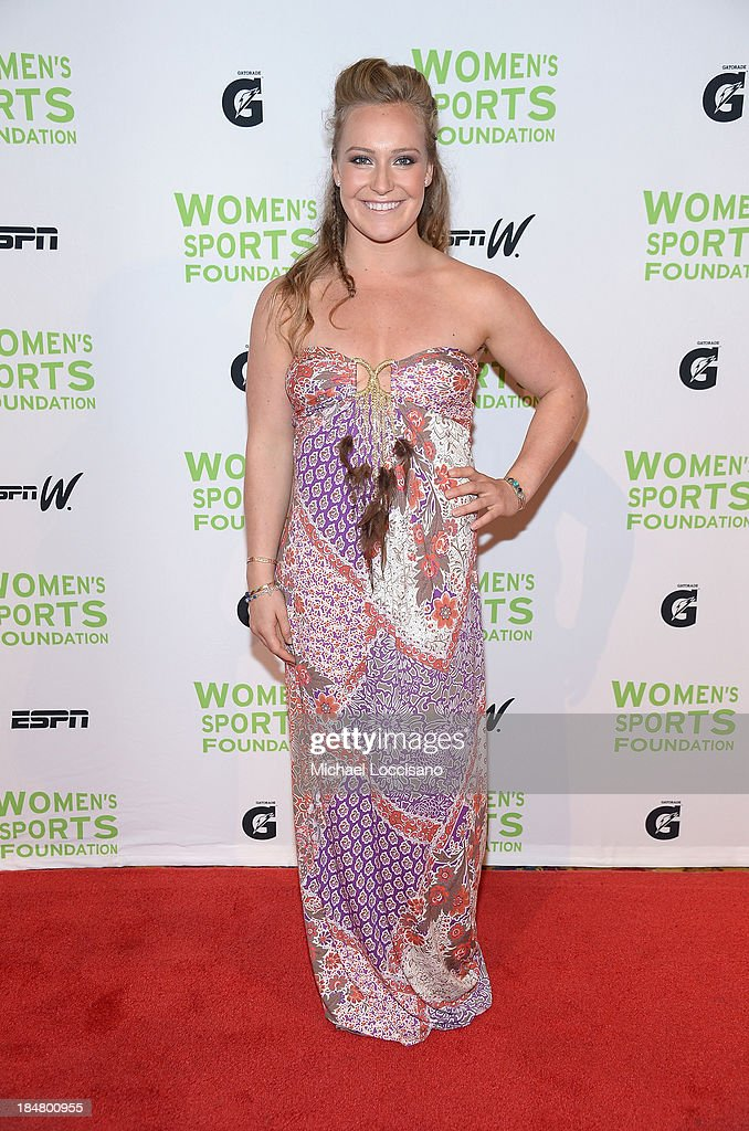 Professional snowboarder Jamie Anderson attends the 34th annual Salute to Women In Sports Awards at Cipriani, Wall Street on October 16, 2013 in New York City.
