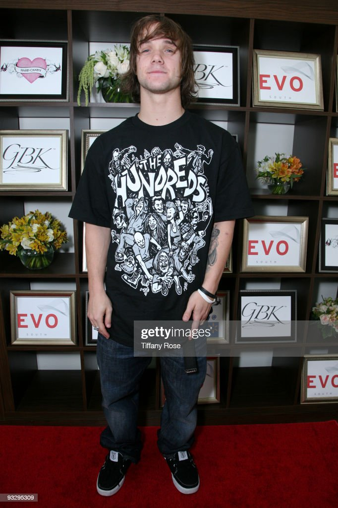 Professional snowboarder Louie Vito attends GBK's American Music Awards Luxury Gift Lounge on November 21 2009 in Los Angeles California