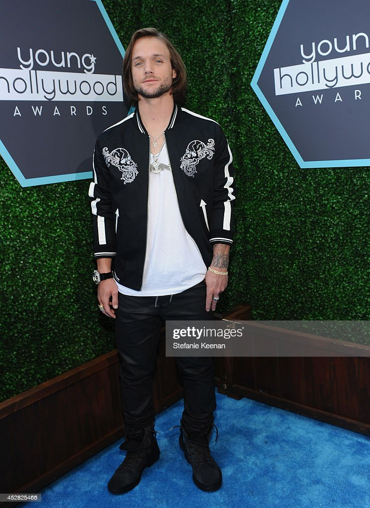 Professional snowboarder Louie Vito attends the 2014 Young Hollywood Awards brought to you by Samsung Galaxy at The Wiltern on July 27 2014 in Los...